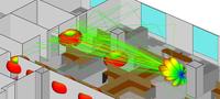 屋内環境における散乱を考慮したミリ波無線通信の伝搬評価