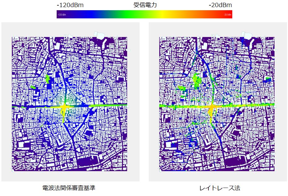 BWA_Local5G_Local5Gの受信電力分布